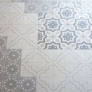 French Encaustic Cement Tile