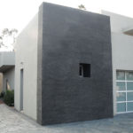 Grey Basalt Exterior Wall in Flamed Wave finish