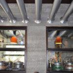 Grey Basalt Interior Commercial Wall