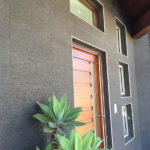 Grey Basalt Exterior Wall in Flamed Wave