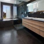 Grey Basalt Bathroom Wall & Floor