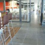 Grey Basalt Commercial Floor in Honed