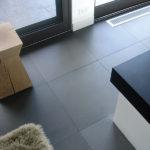 Grey Basalt Interior floor in Honed