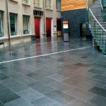 Grey Basalt Commercial Floor in Polished