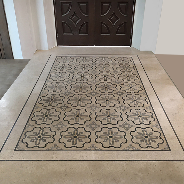 Bespoke Floors Square Exterior Pattern C