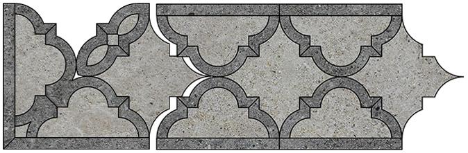 Border & Corner Pattern D