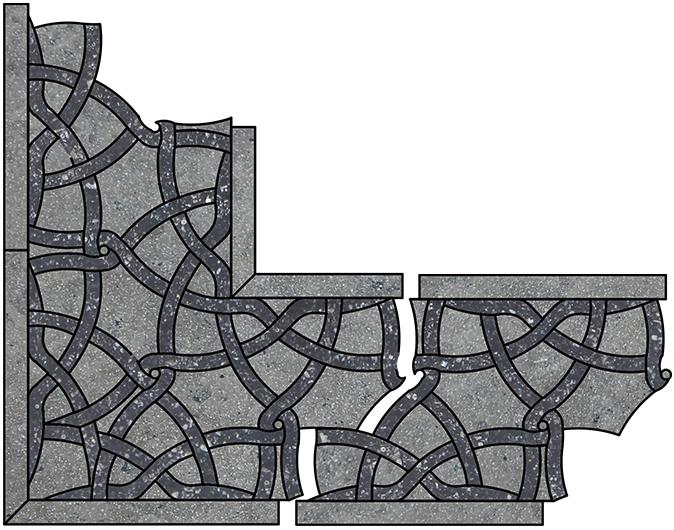 Border & Corner Pattern H