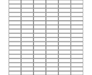 Bespoke Mosaic Pattern 58-S