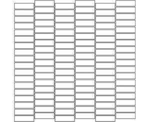 Bespoke Mosaic Pattern 58-SO