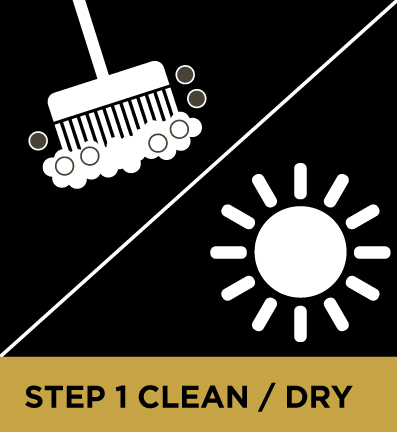Rock Shield Sealer Clean & Dry