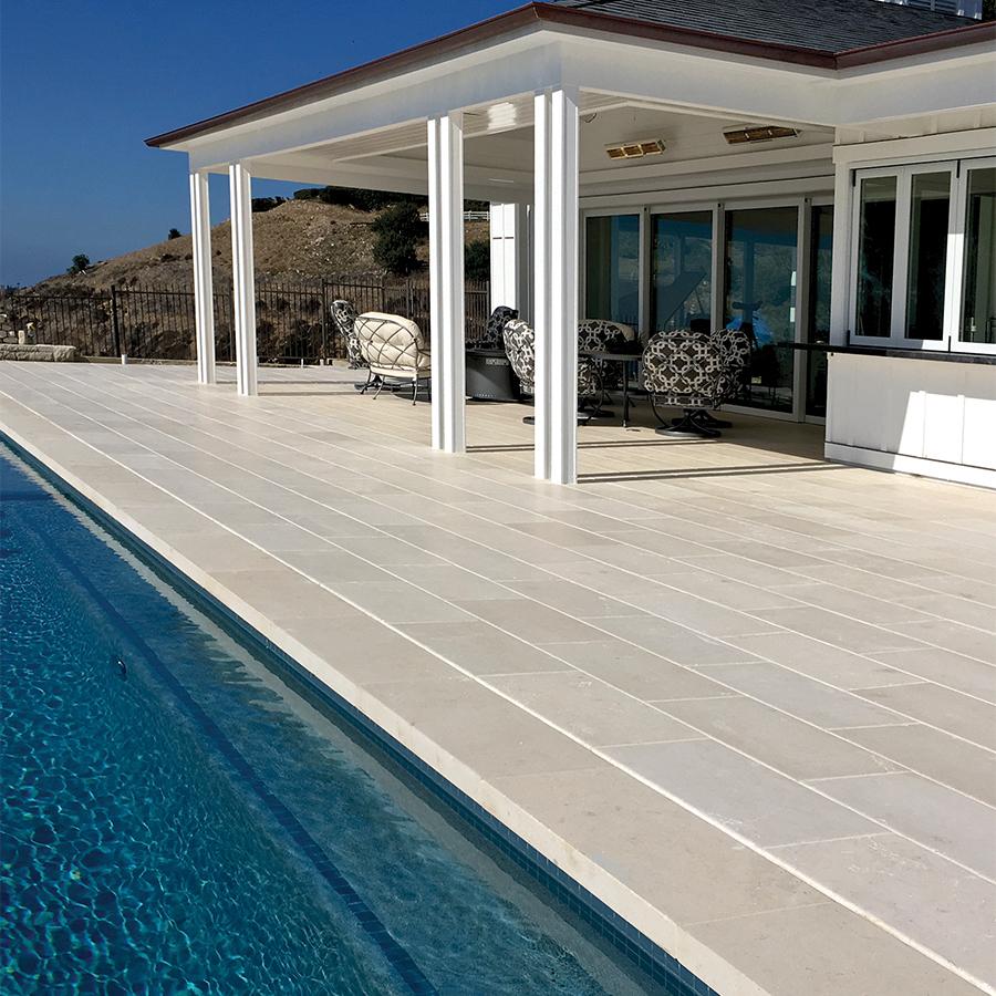 Massangis Limestone Pool Deck