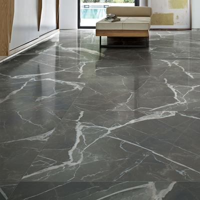Calacatta Black Porcelain Floor