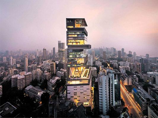 Project Antilia Tower Mumbai