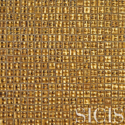 SICIS Pool Rated Murano GOLDEN TIDE