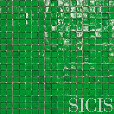 SICIS Pool Rated Waterglass EVERGREEN 24