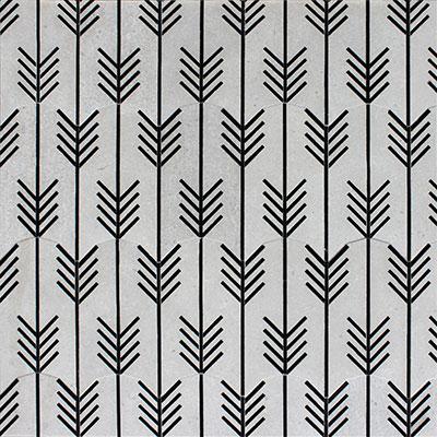 Waterjet Mosaics Arrows