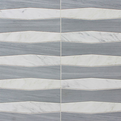 Waterjet Mosaic Colonnade