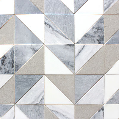 Waterjet Mosaic Equilateral