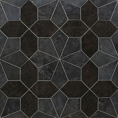 Waterjet Mosaic Leaf Petal