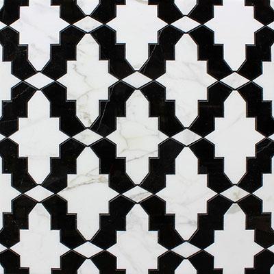 Waterjet Mosaic Marquis