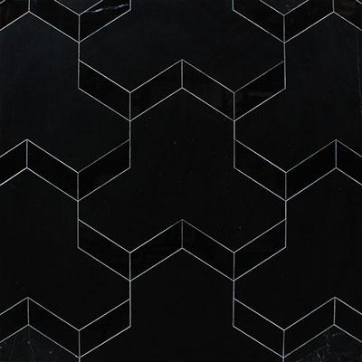 Waterjet Mosaic Trefoil